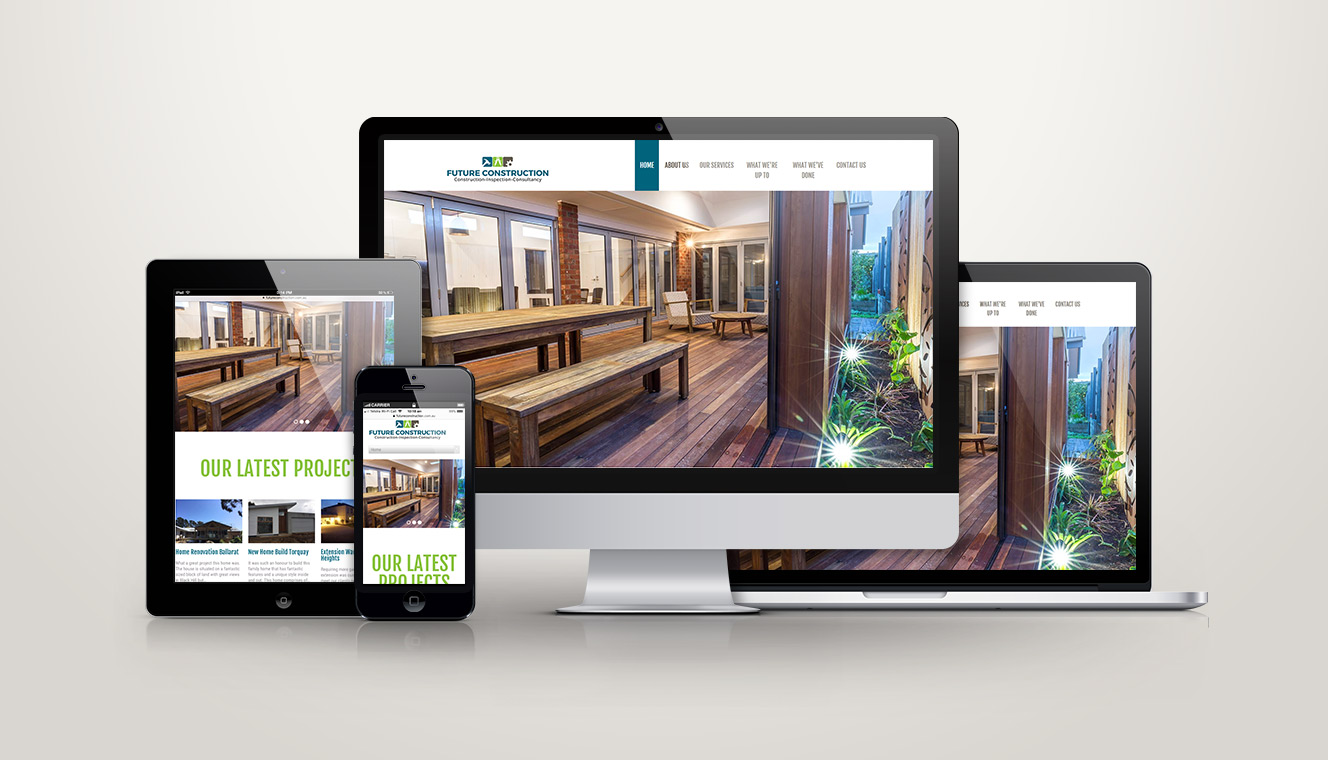 Future Construction Website Design
