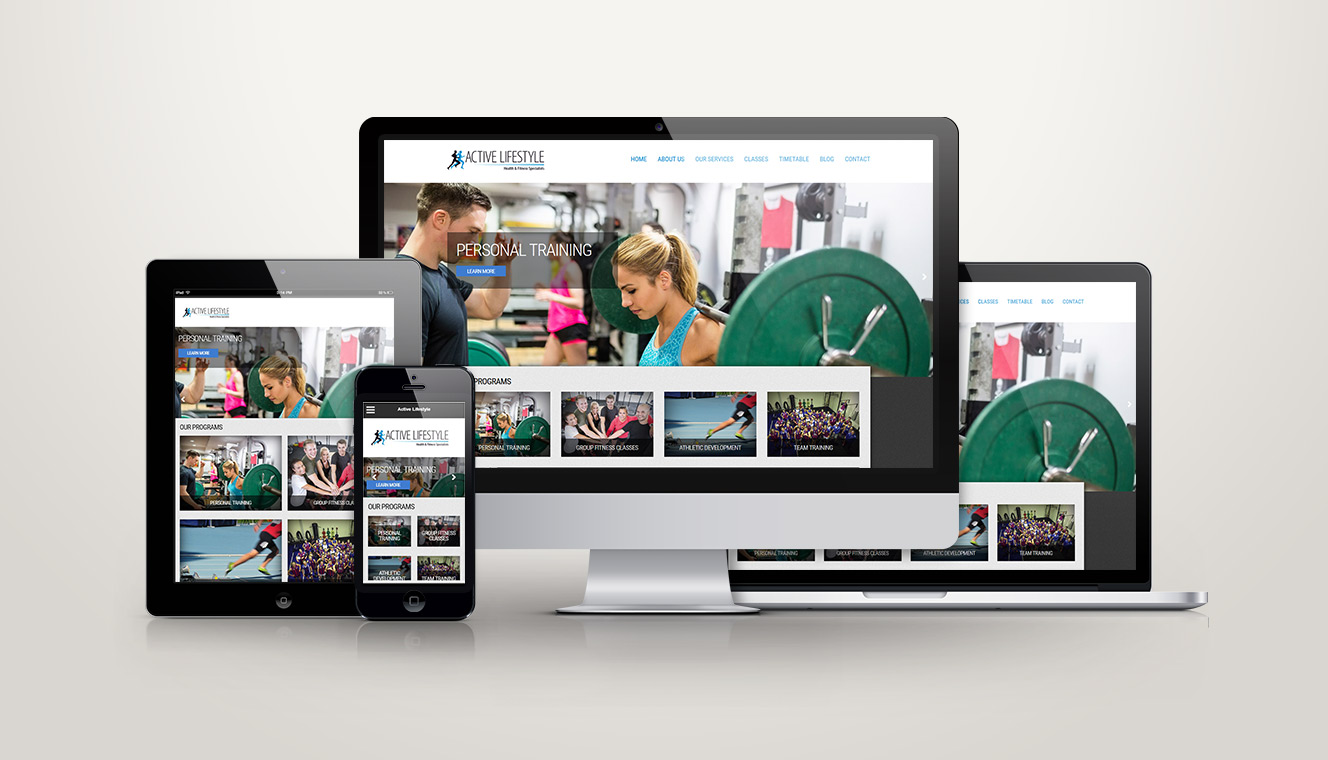 Active Lifestyle Website Redesign