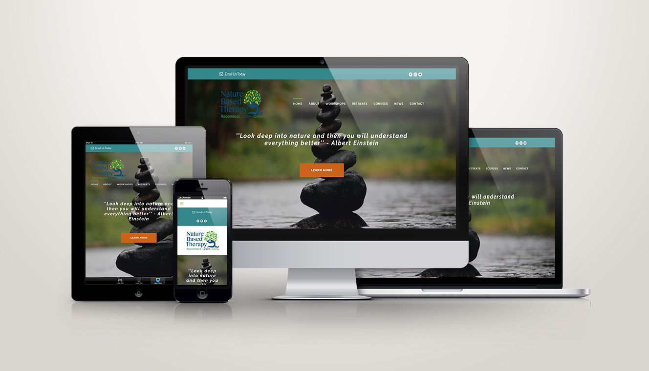 Nature Based Therapy Web Design