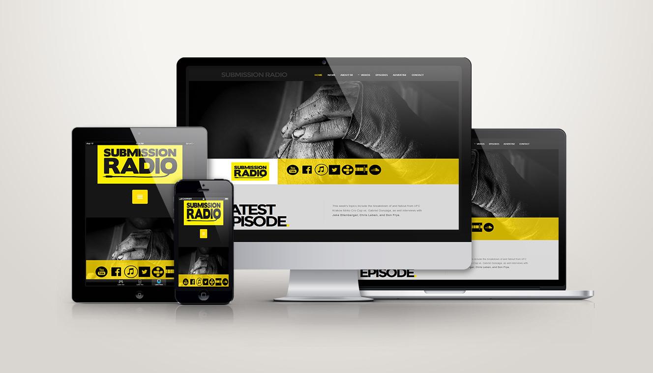Submission Radio Website Design